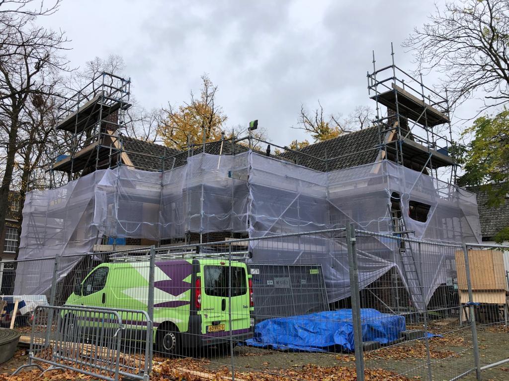 Restauratie en Onderhoud Kerktoren en voormalig Raadhuis Son en Breugel in samenwerking met Nico de Bont BV uit Vught © Dusol VGO