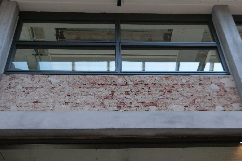 Betonherstel en oude elementen in Gebouw TQ (Strijp-T Eindhoven)