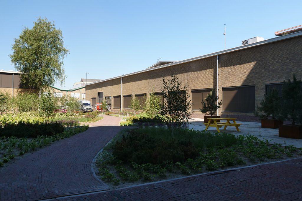 Binnentuin Gebouw TQ (Strijp-T Eindhoven)