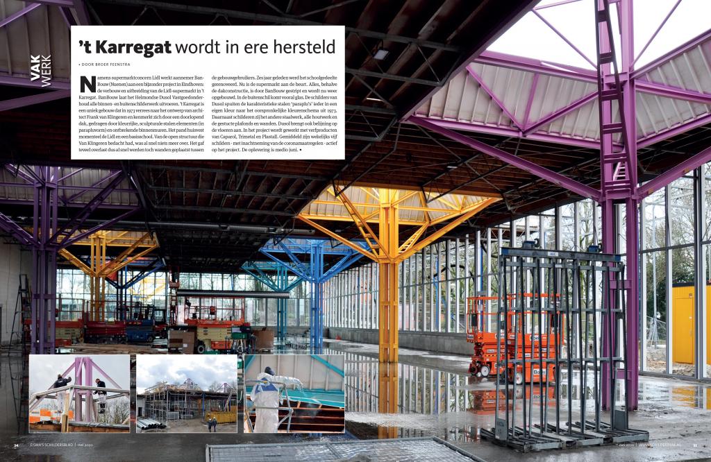 Artikel in Eisma's Schildersblad van mei 2020