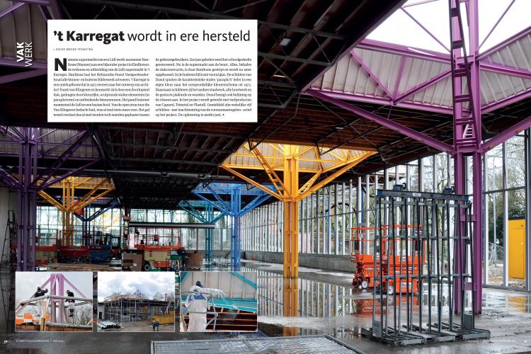 Artikel in EISMA's schildersblad Mei 2020