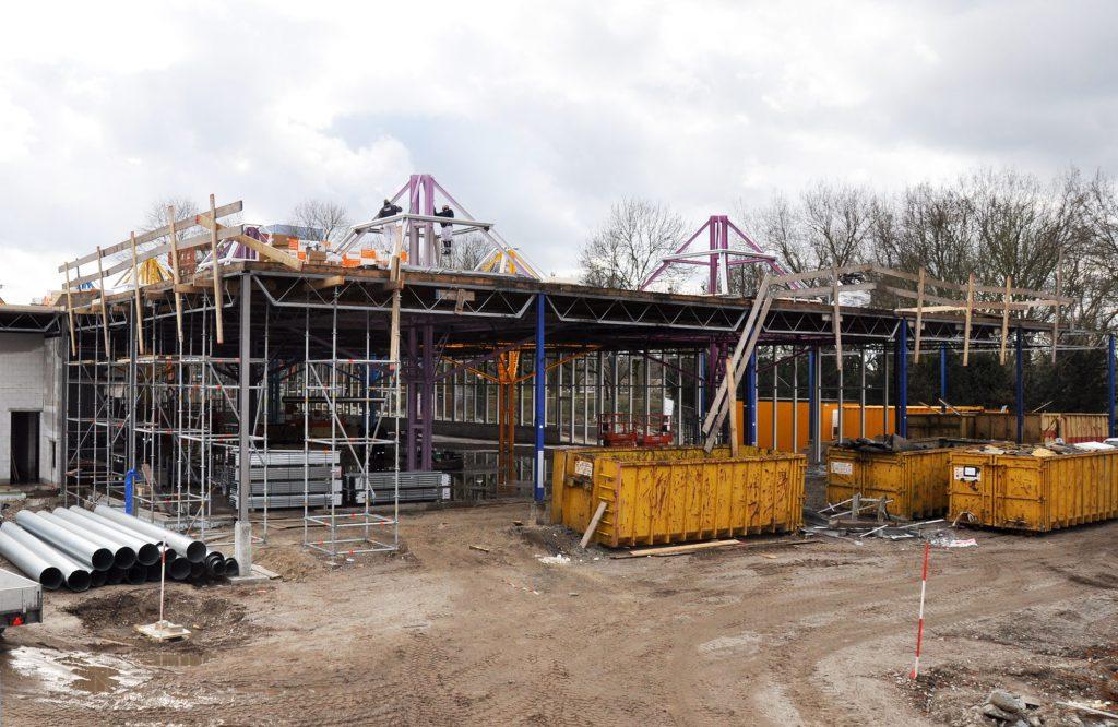 bouwterrein Lidl Karregat Eindhoven © Dusol Vastgoedonderhoud