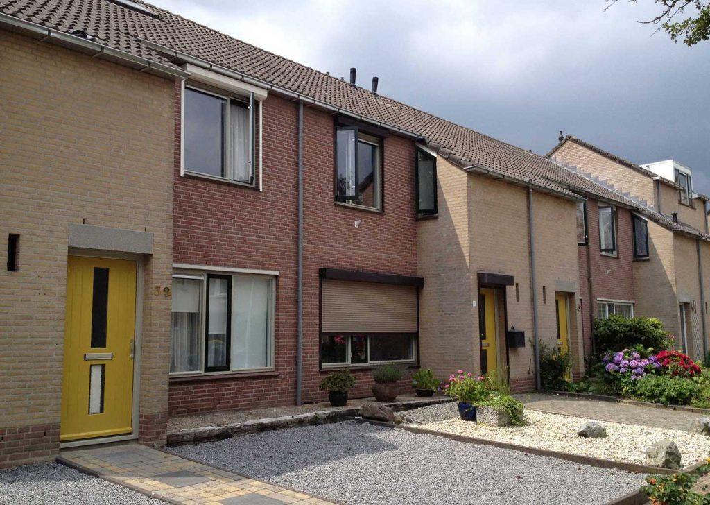 Groot onderhoud 80 woningen en 12 appartementen Boxmeer