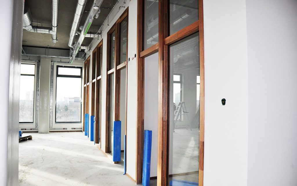 Fontys Hogeschool Eindhoven in aanbouw © Dusol Vastgoedondehoud