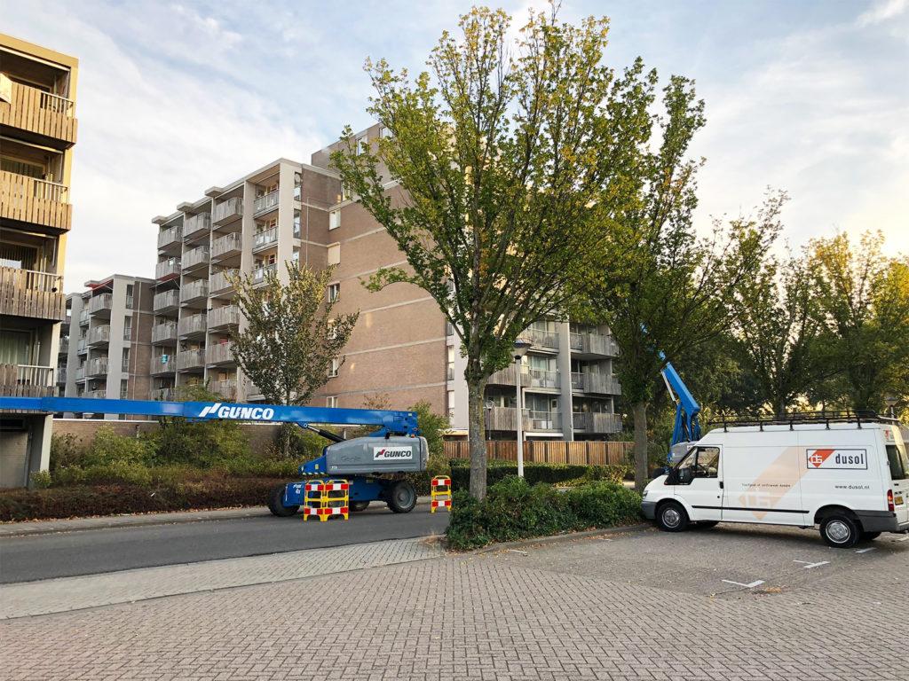 Betonherstel Hertog jan van Brabant-flat Helmond © Dusol Vastgoedonderhoud