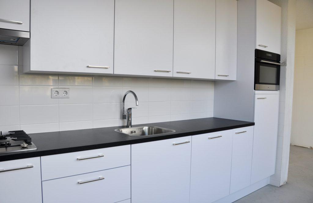 nieuwe keuken © Dusol Vastgoedonderhoud