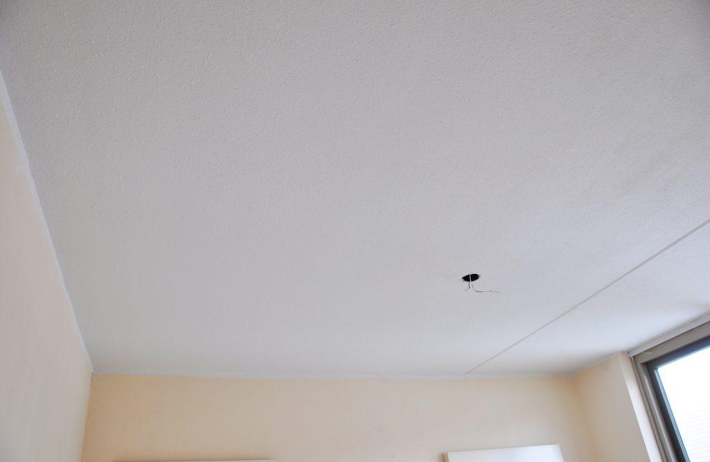 plafond geschilderd © Dusol Vastgoedonderhoud