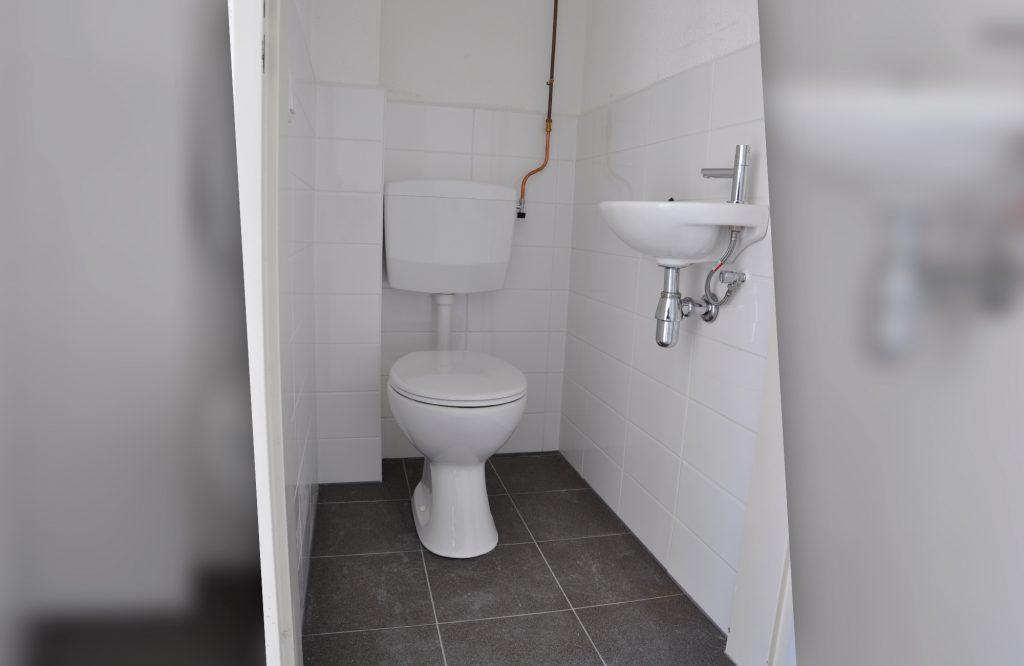 nieuwe toilet geplaatst © Dusol Vastgoedonderhoud