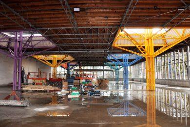 parapluconstructie Lidl Karregat Eindhoven © Dusol Vastgoedonderhoud