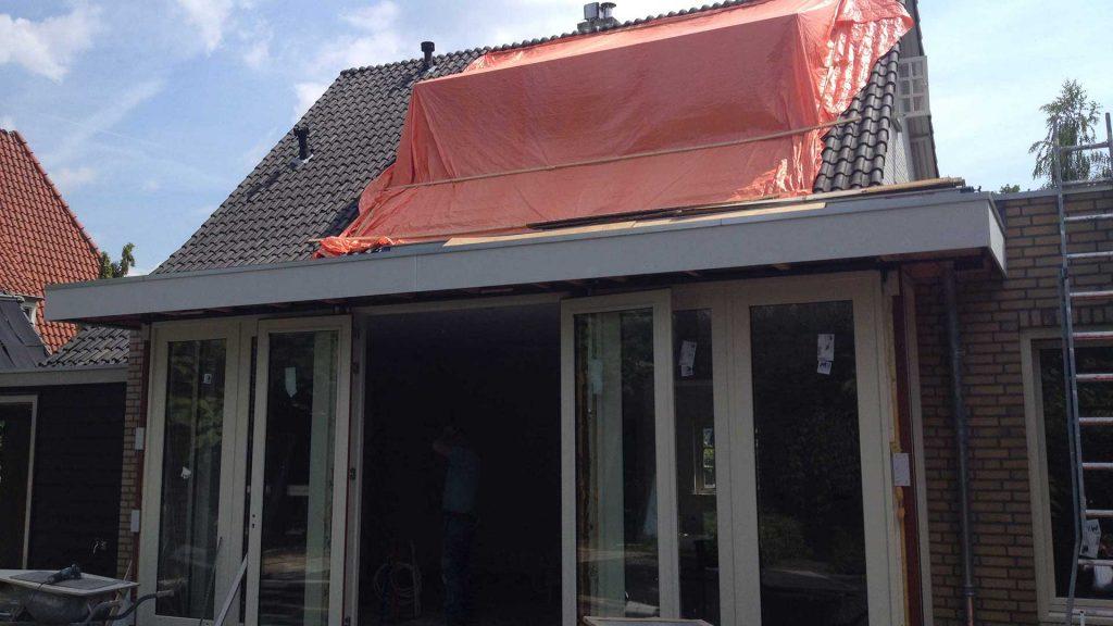 verbouwing: nieuwe dakkapel