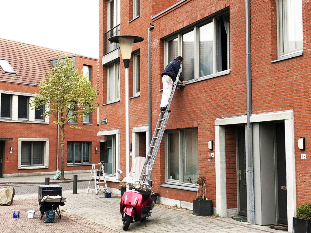 Volksbelang Zonnekwartier Helmond schilderonderhoud 48 woningen