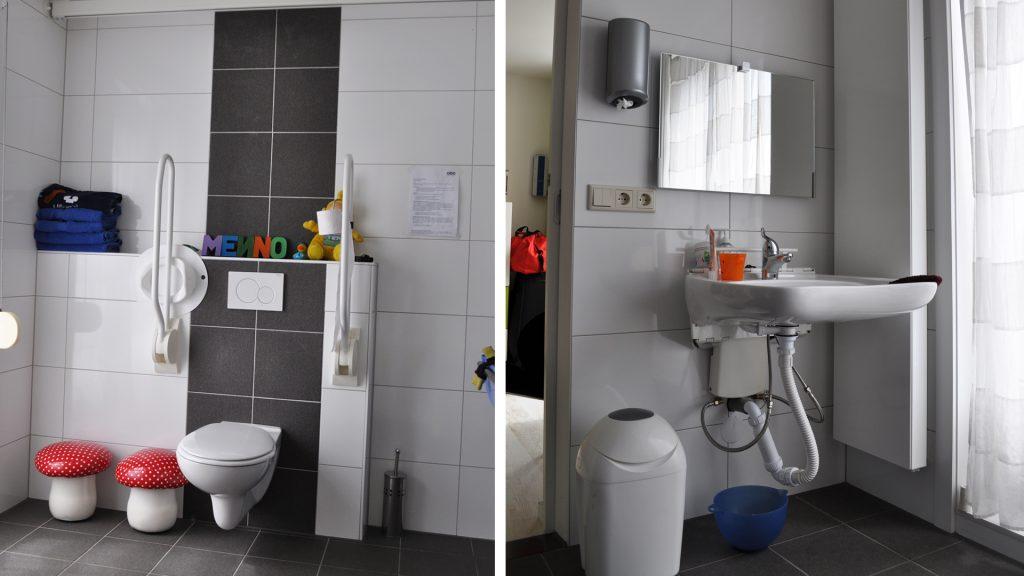 Aanpassing badkamer/toilet