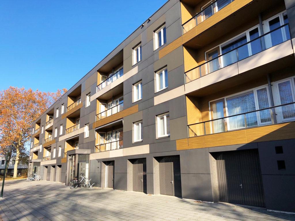 Peppelhof Geldrop. 72 woningen Woonbedrijf Eindhoven